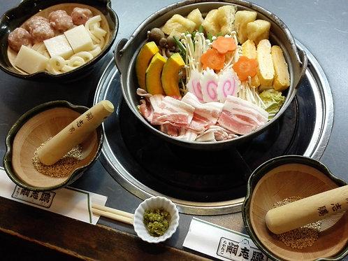 豚肉ちゃんこ(団子セット付) 2人前