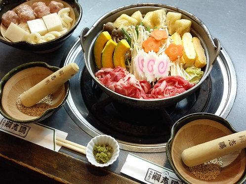 牛肉ちゃんこ(団子セット付)3人前
