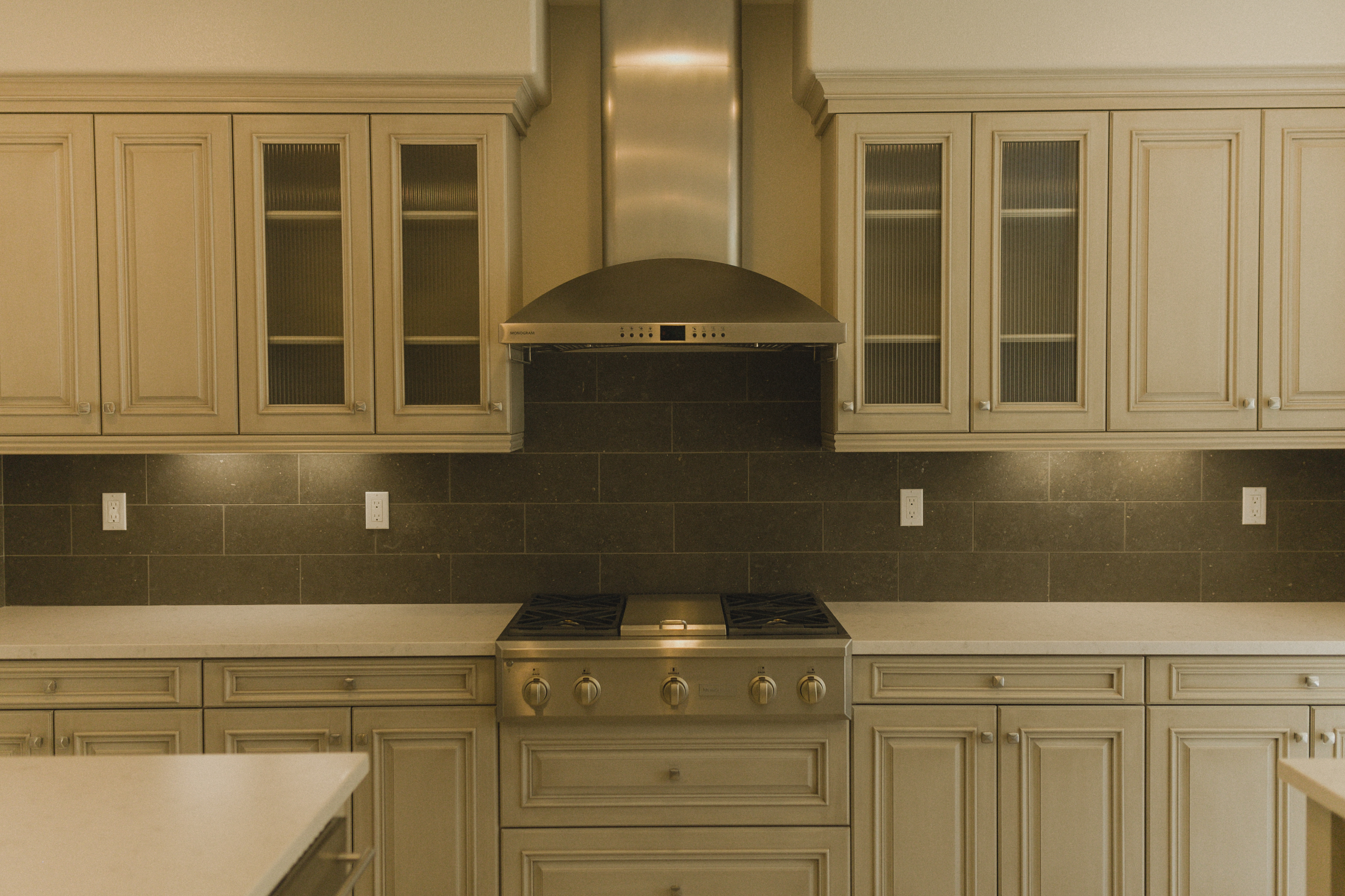 Custom Cabinets & Counter Tops!