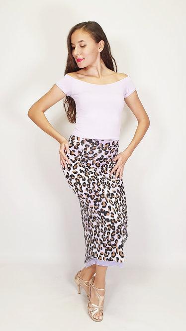 Top: Victoria Lilac - Skirt: Lavish Cheetah Animalic & Lilac