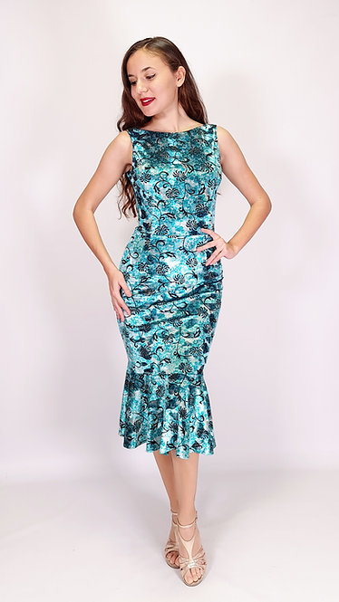 Grace - Santorini Dreams  Velvet Tango Dress