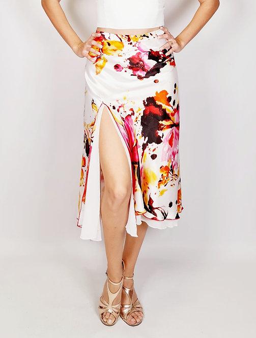 Flowy & Satin - Passionate Dreams Half Klosh Tango Skirt