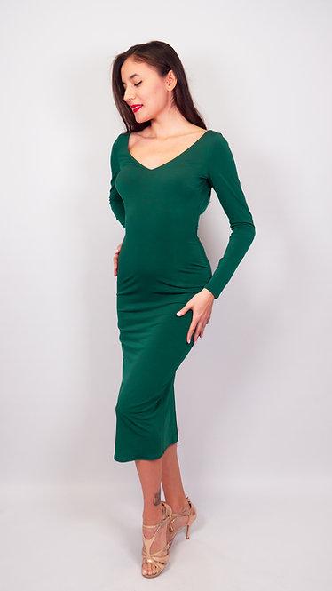 Norah - Green Tango Dress