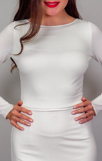 Joy - White Tied Back Tango Top