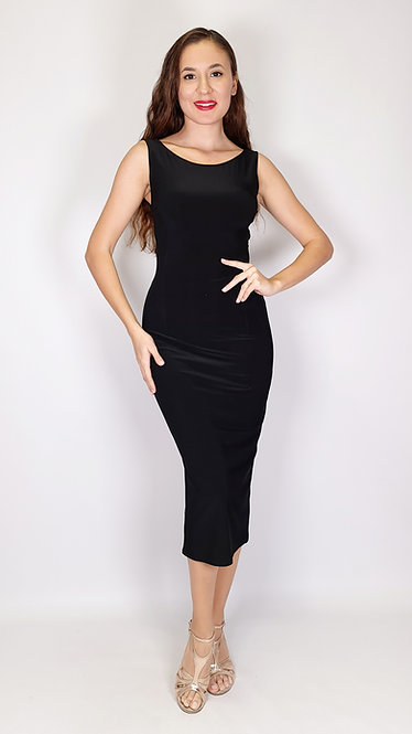 Bianca - Black Tango Dress