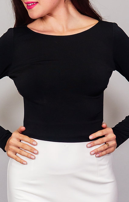 Lea - Black Tango Top
