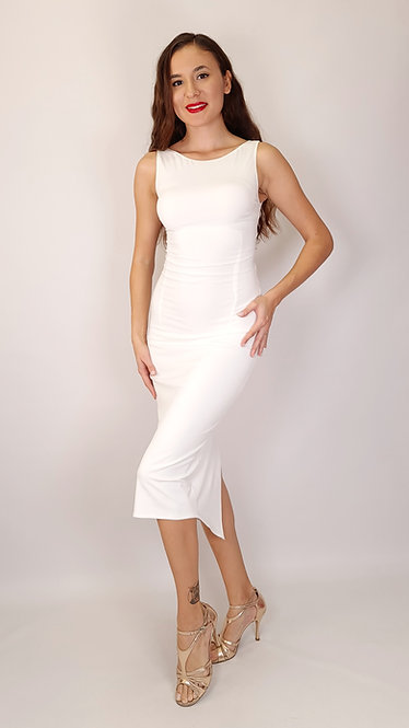 Bianca - White Tango Dress