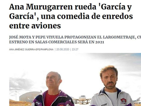 'Garcia y Garcia', Ana Murugarren rueda en Teruel
