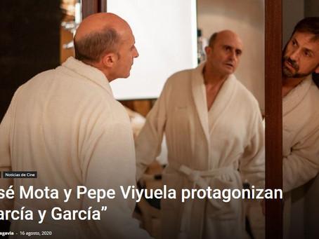 Se rueda 'Garcia y Garcia', la nueva comedia de Murugarren