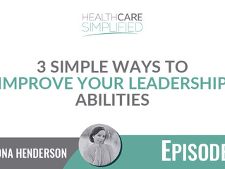 3 Simple Ways To Improve Your Leadership Abilities