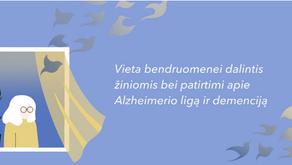 """Antroji """"Atminties kavinė"""" kviečia prisijungti besidominčius demencijos problemomis"""