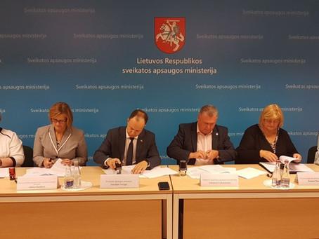 Pasirašyta nauja Lietuvos nacionalinės sveikatos sistemos (LNSS) kolektyvinė sutartis