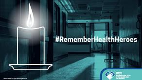 Tarptautinė Slaugytojų Taryba gegužės 11-ąją kviečia prisiminti žuvusius sveikatos darbuotojus