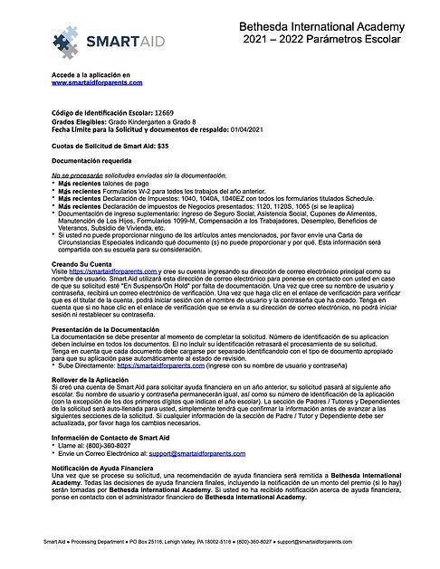 Bethesda_Spanish_20-21 Parent Instructio