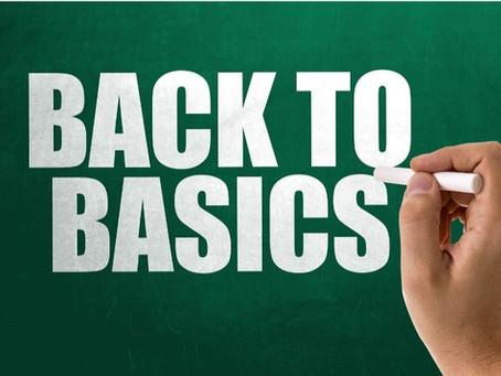 Back to Basics - By Pastor Thomas Engel