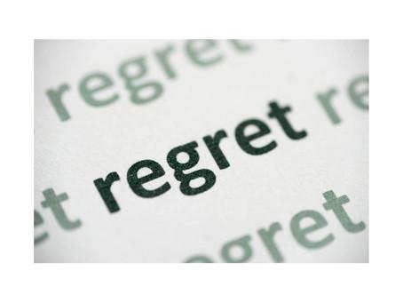 Got Regrets? - By Pastor Thomas Engel