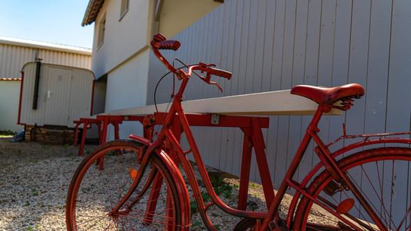 Zum Klemo Fahrradparkplatz