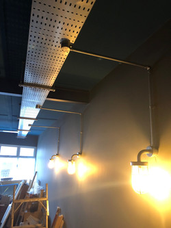 Industrial style installation