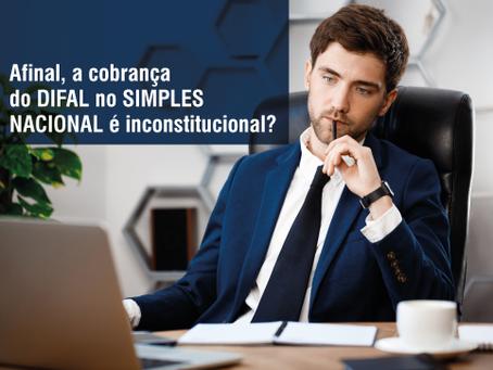 Afinal, a cobrança do DIFAL é inconstitucional?