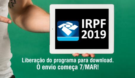 Liberação do programa do IRPF 2019