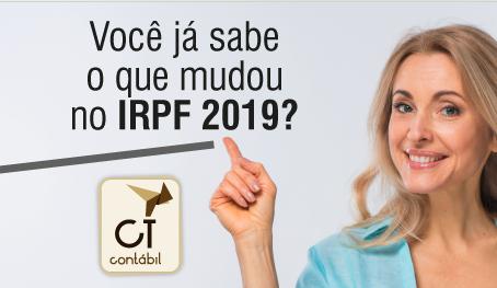 Você já sabe o que mudou no IRPF 2019?