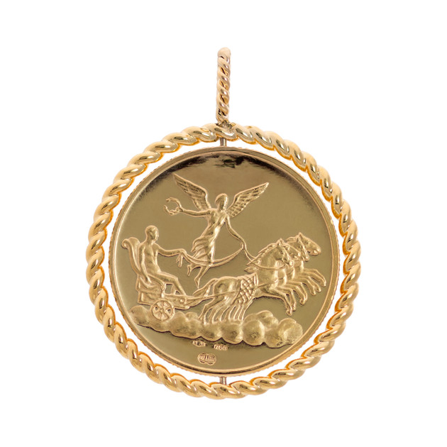 Medaillion Lion & Freedom