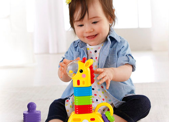 Girafa de Empilhar - Fisher Price
