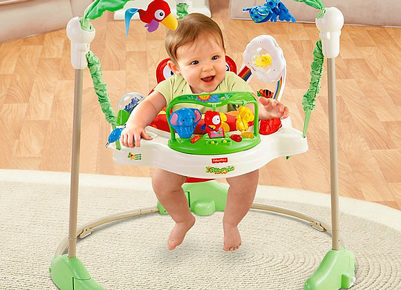 Jumperoo Rainforest - Fisher Price.