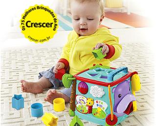 Guia de brinquedos e brincadeiras por idade - Sexto mês de idade.