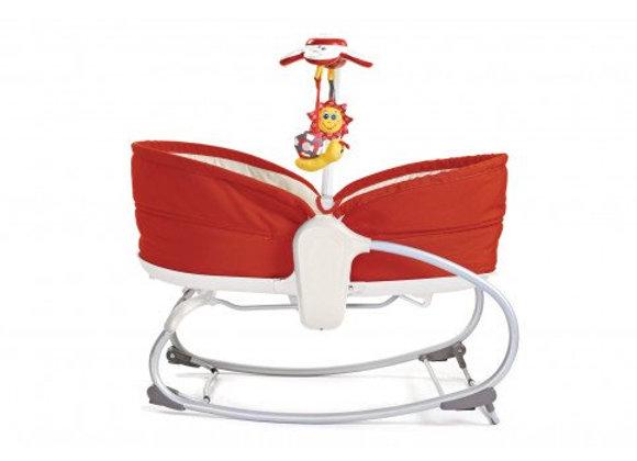 Cadeira Rocker Napper 3 em 1 - vermelho - Tiny Love.