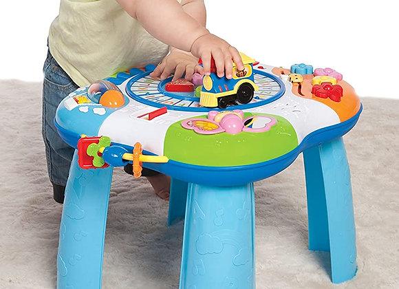 Super mesa de atividades com trem e piano - Winfun.