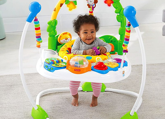 Jumperoo Go Wild - Fisher Price.