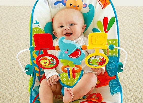 Cadeira de descanso - Animal Party - Fisher Price.