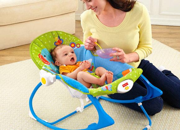 Cadeira de Balanço Minha Infância - Fisher Price