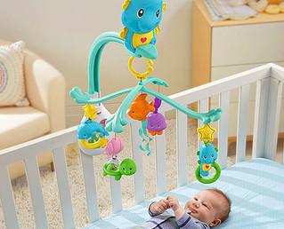 Guia de brinquedos e brincadeiras por idade - Quarto mês.