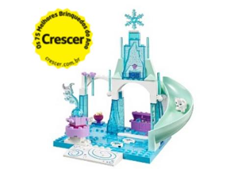 Lego Junior - Pátio Gelado de Anna e Elsa