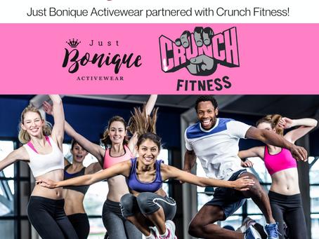 Just Bonique x Crunch Fitness