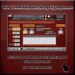 WR YAMAHA Desktop Xylophone