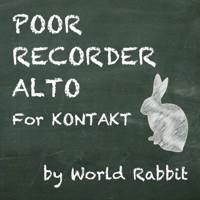 POOR RECORDER ALTO