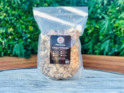 Fruit Wood Smoking Chips 1kg