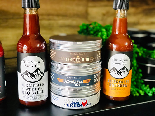 Rub & Sauce Pack by The Alpine Sauce Co.