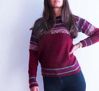 Alpakastore - Roter Pullover