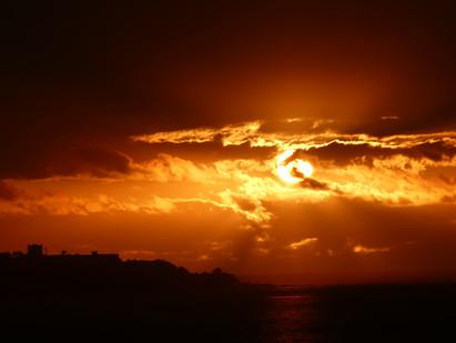 Sonnenuntergänge in Vina del Mar