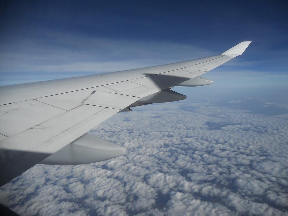 Flugzeug nach Chile
