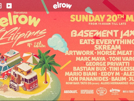 Elrow, Barcelona - Neon Panda Boutique May 2018