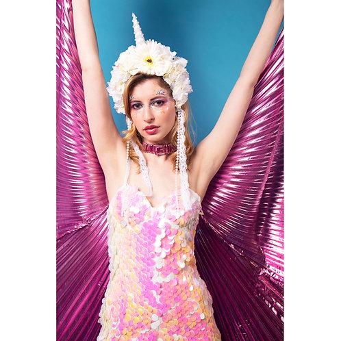 Athena Unicorn Headband,  Light-up edition