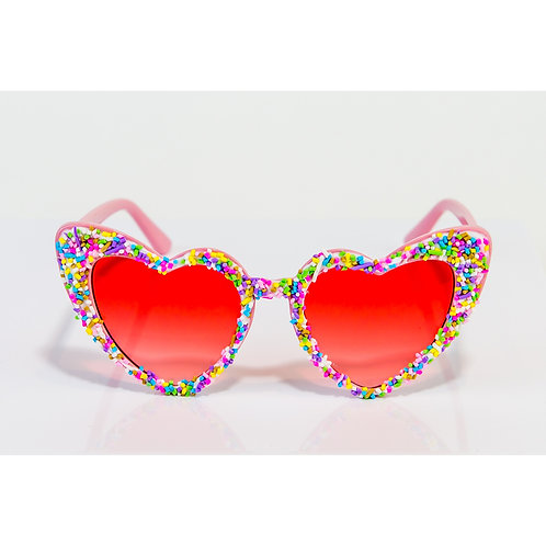 Candy Sprinkle Love Hearts