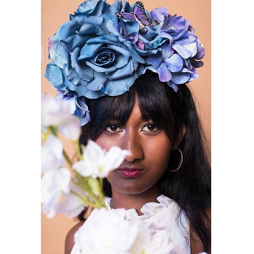 Sapphire Rose Crown