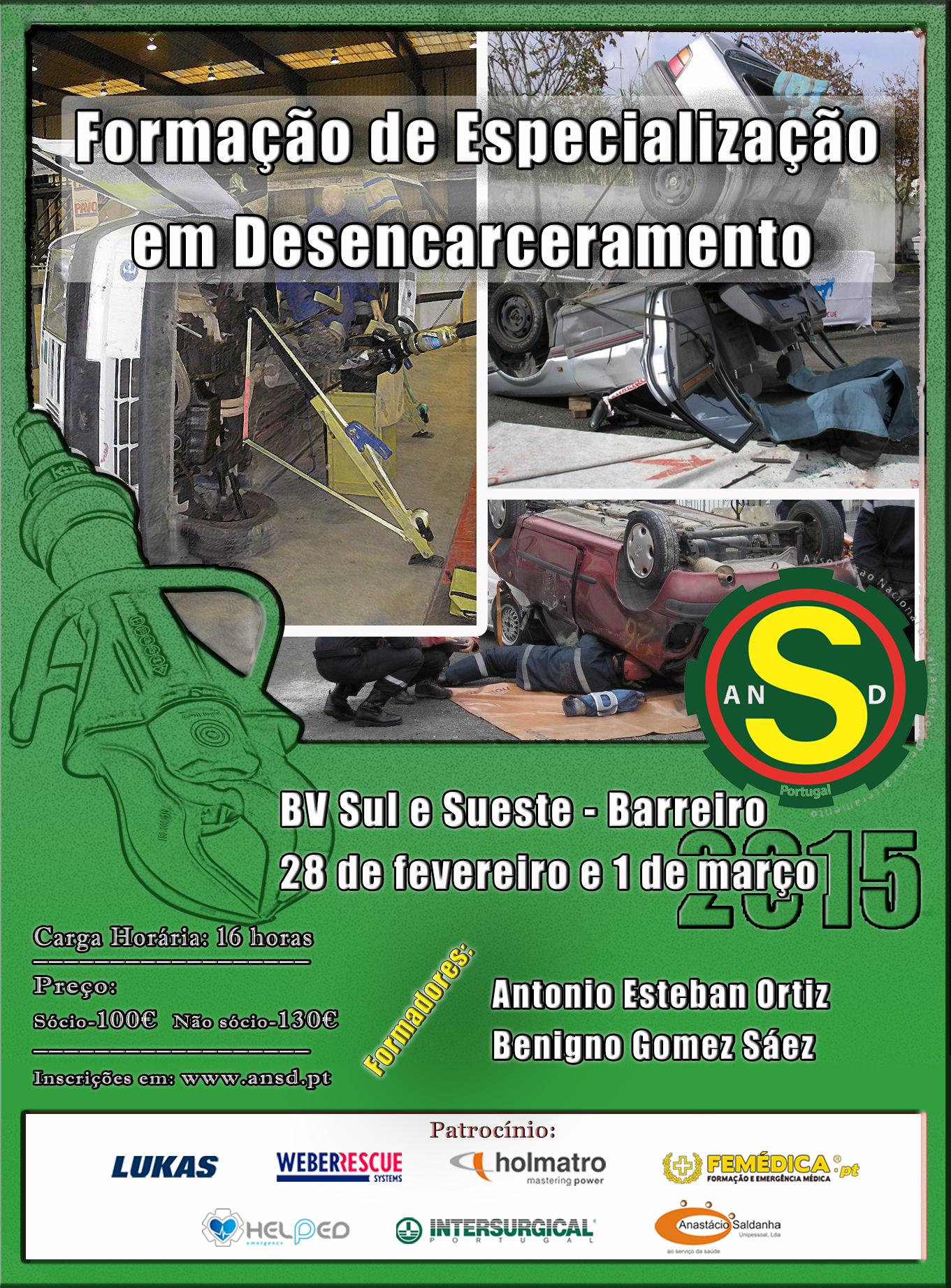 2015 | Especialização Desencarcera/º