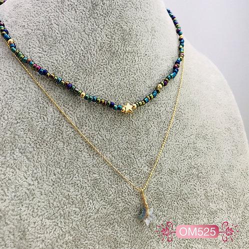 OM525-Collar en Oro Goldfield